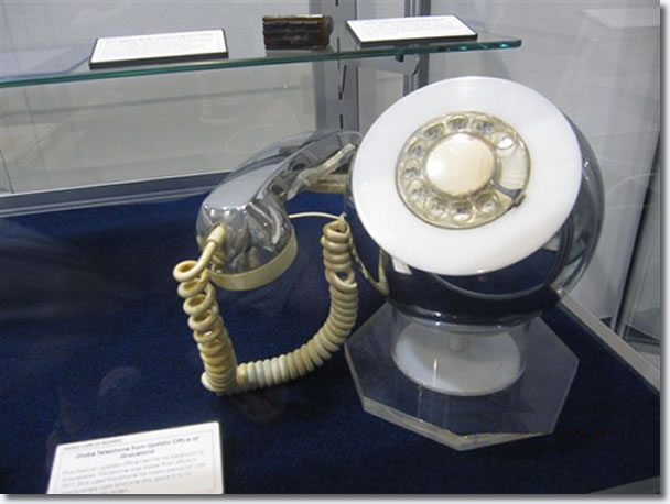 Elvis Presleys Phone From The Upstairs Office at Graceland