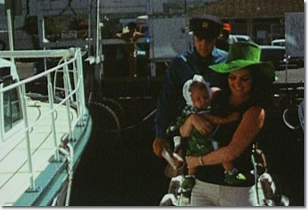 Elvis and Priscilla Presley, Hawaii, May 1968