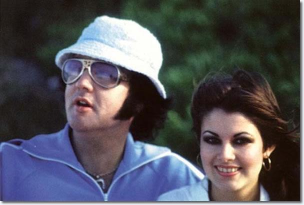 Elvis Presley and Ginger Alden - Hawaii, March 1977