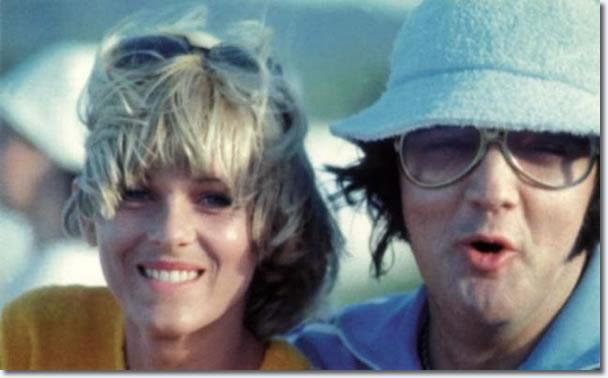 Shirley Diew, Joe Espositos girlfriend with Elvis, Hawaii 1977