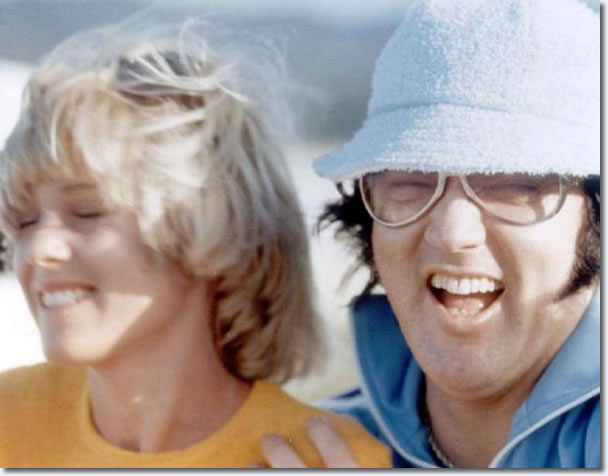 Shirley Diew, Joe Espositos girlfriend with Elvis, Hawaii 1977