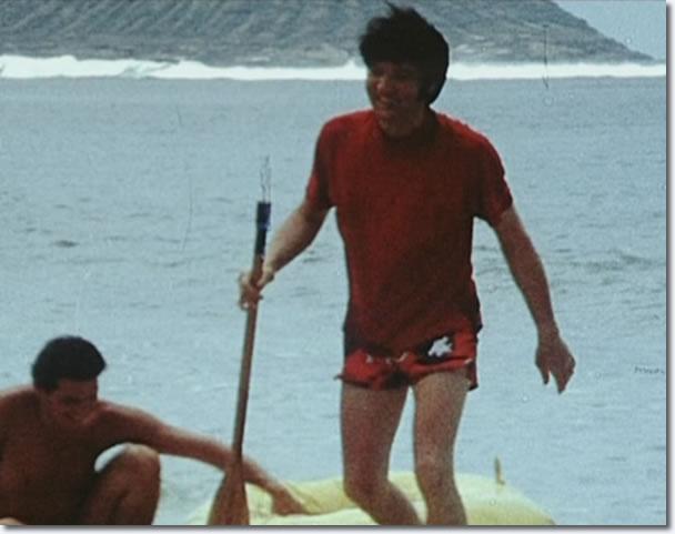 Elvis Presley on holiday, Hawaii
