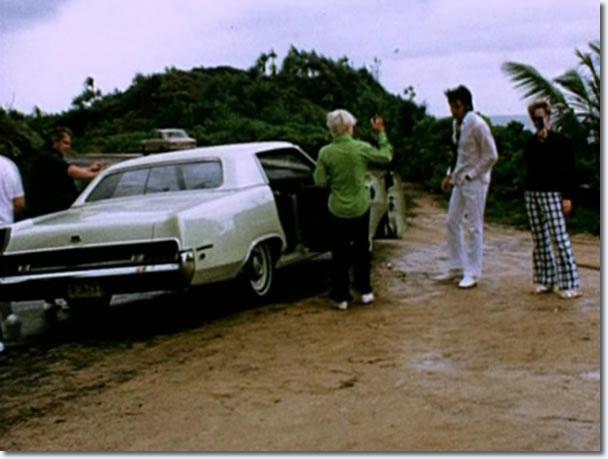 Elvis Presley on holiday, Hawaii, May 1969