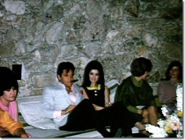 Elvis and Priscilla - 1967, on the eve of their marriage