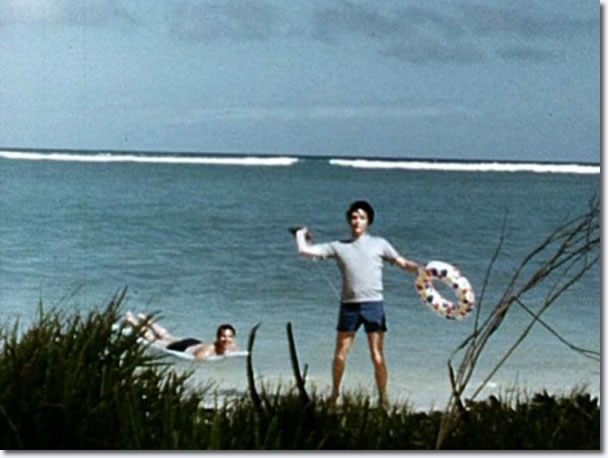 Elvis Presley on holiday, Hawaii, May 1968