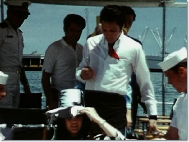 Elvis on Holiday - Visiting The U.S.S. Arizona Memorial, August 15, 1965