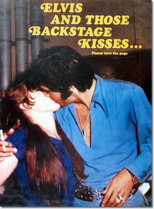 Elvis Presley: Backstage Kisses