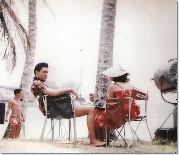 Elvis Presley and Joan Blackman - Blue Hawaii