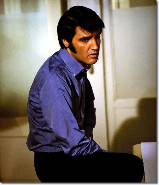 Elvis Presley on the set of Change Of Habit