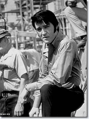 Elvis on the Universal Studios back lot
