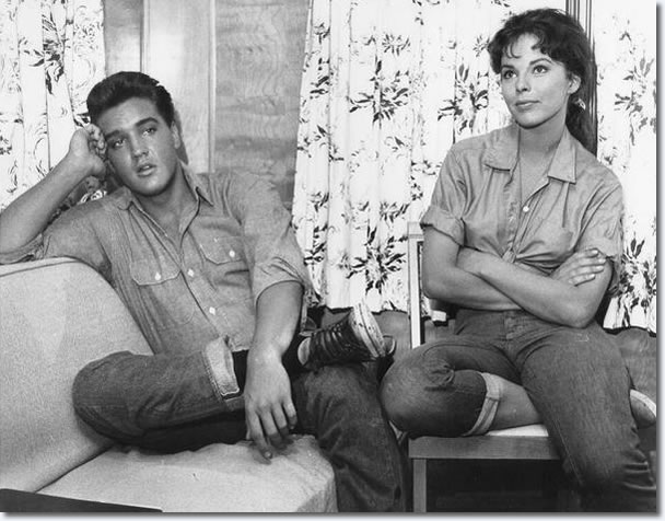 Elvis Presley and Follow That Dream, Co star Anne Helm.