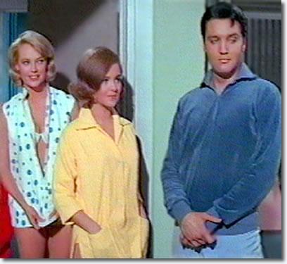 Chris Noel, Shelley Fabares & Elvis Presley