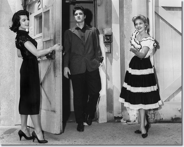 A publicity photograph 'Jailhouse Rock' - Judy Tyler, Elvis Presley