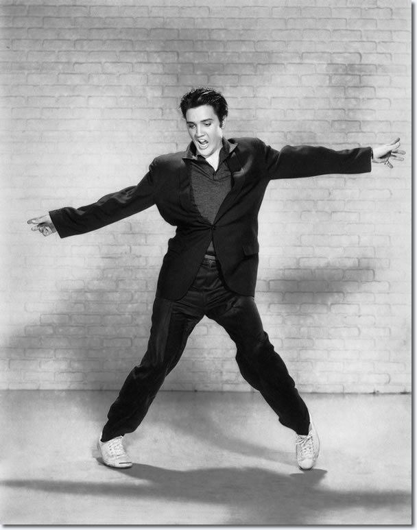 Elvis Presley Jailhouse Rock Publicity Photo. View lots more great Elvis Presley : Jailhouse Rock Publicity Photos.