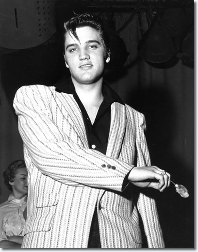 Elvis Presley - from the rehearsal for the second Milton Berle show