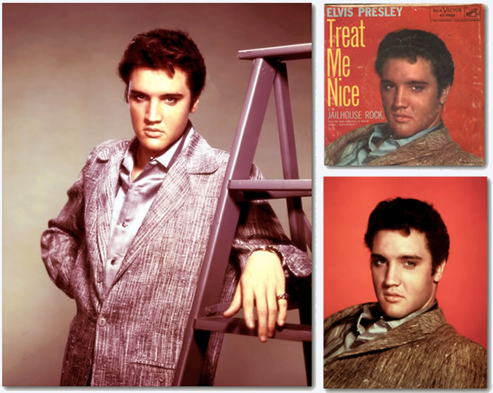 Elvis Presley Photos : Jailhouse Rock : Page 6 : Publicity Photos