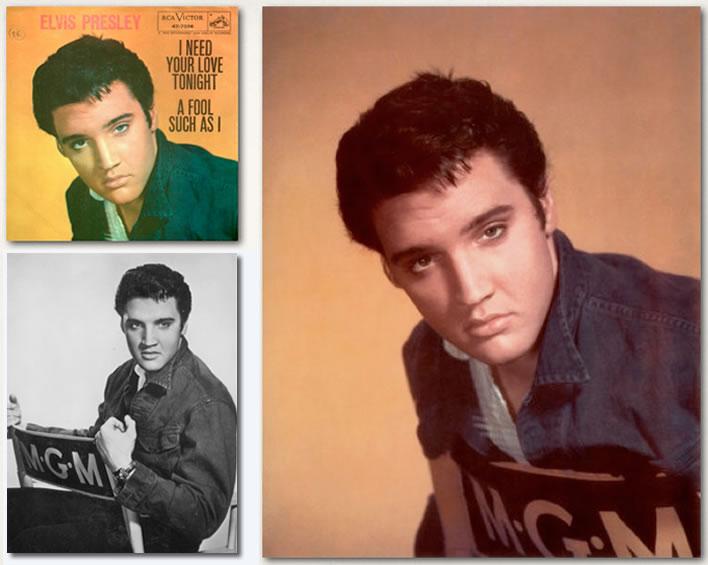 Elvis Presley Photos : Jailhouse Rock : Page 7 : Publicity Photos
