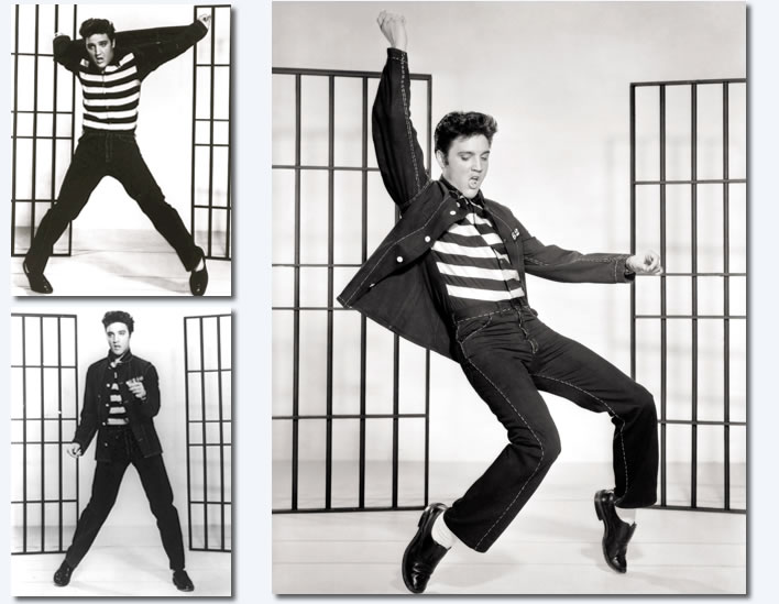 Elvis Presley Photos : Jailhouse Rock : Page 4 : Publicity Photos