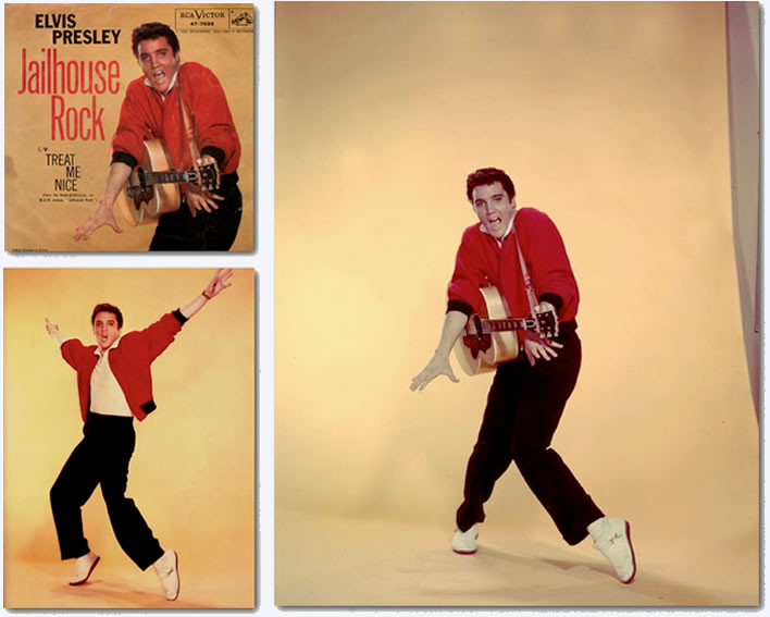 Elvis Presley Photos : Jailhouse Rock : Page 4 : Publicity Photos
