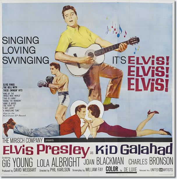 Theatrical Poster for Kid Galahad.