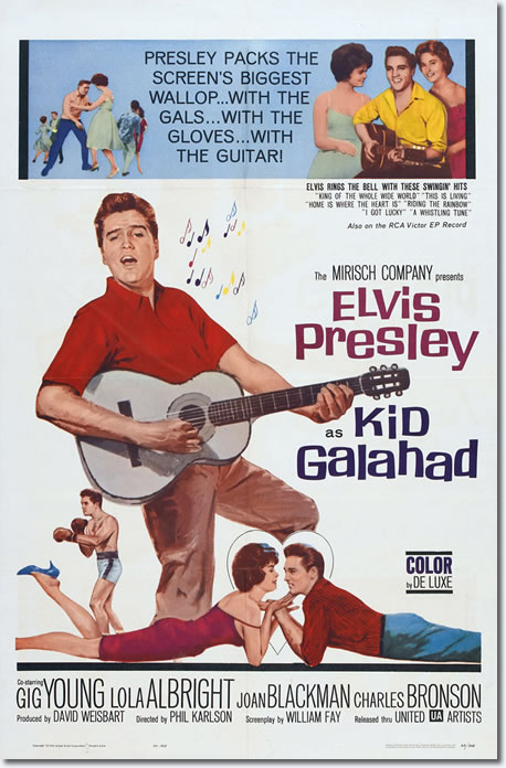 US theatrical Poster for Kid Galahad.