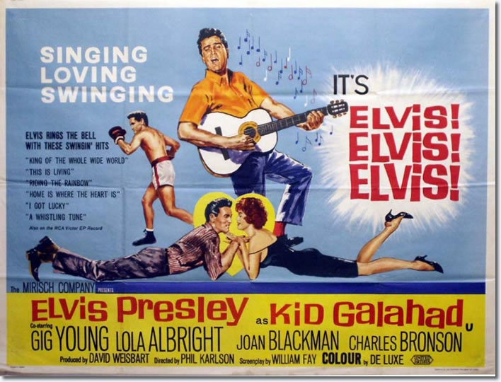 Theatrical Poster for Kid Galahad