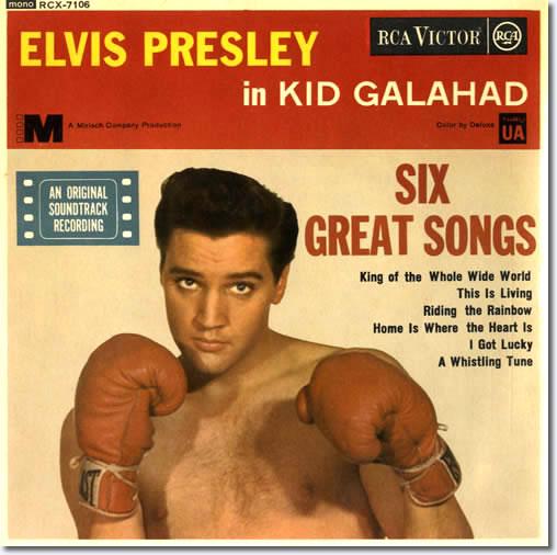 Kid Galahad E.P. Cover.