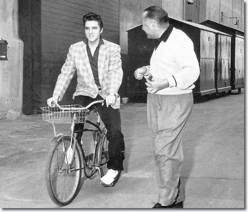 Hal Wallis and Elvis Presley