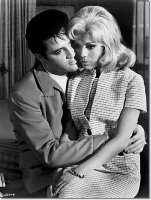 Elvis Presley and Nancy Sinatra star in the 1968 movie, 'Speedway'. The MGM release also featured Bill Bixby, Gale Gordon, William Schallert and Victoria Meyerink. (Metro-Goldwyn-Mayer)