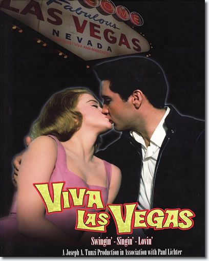 Viva Las Vegas Hardcover Book - JAT Publishing, Front Cover.