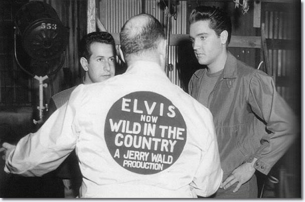 Joe Esposito, Colonel Parker and Elvis Presley.