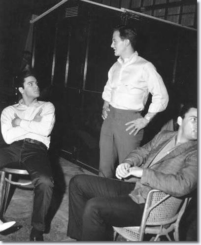 Elvis, Pat Boone and Sonny West.