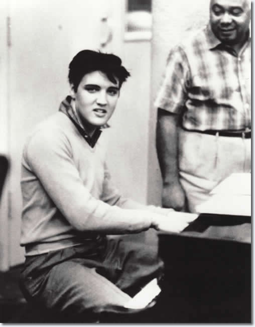 Elvis Presley Photos : From the King Creole FTD Book
