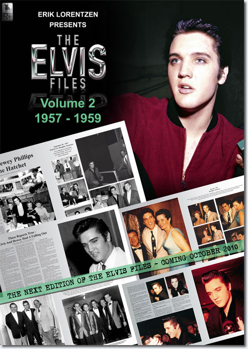 The Elvis Files Vol. 2 1957-1959 : Hardcover Book : 472 pages, 1300 + pictures
