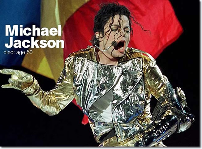 Michael Jackson Died age 50