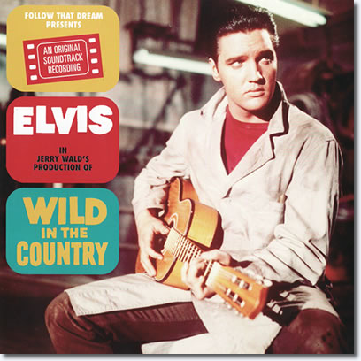 Front page of the booklet, Wild In The Country FTD CD