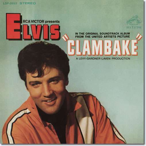 The front cover of the Clambake CD album.