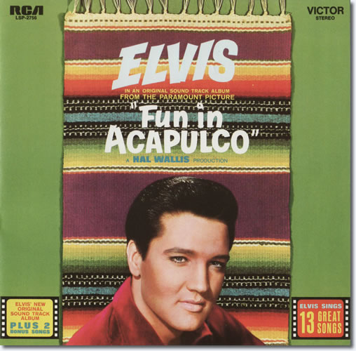 The front cover of the Fun In Acapulco CD album.