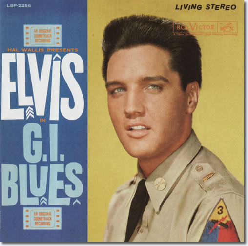 The front cover of the G.I. Blues CD album.