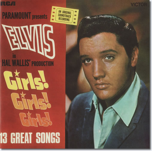 The front cover of the Girls!, Girls!, Girls! CD album.
