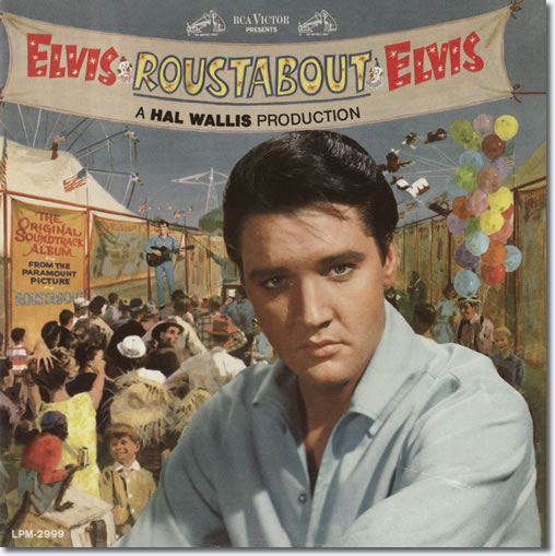 The front cover of the Roustabout CD album.