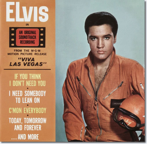 The front cover of the Viva Las Vegas CD album.