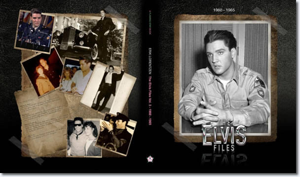 Cover of the first book .The Elvis Files Vol. 3 1960-1965'.