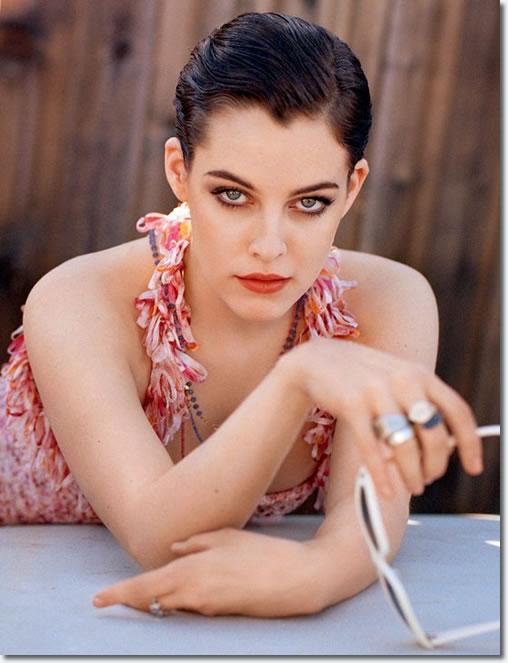 Riley Keough, Elvis' Granddaughter in Elle Italia.