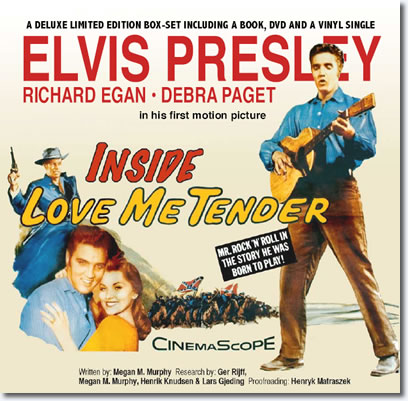 Inside Love Me Tender - Deluxe Box Set - Book - DVD - 45 RPM Vinyl