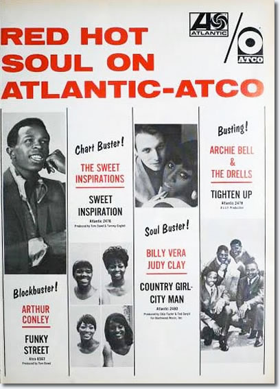 The ad that Atlantic ran in Billboard.