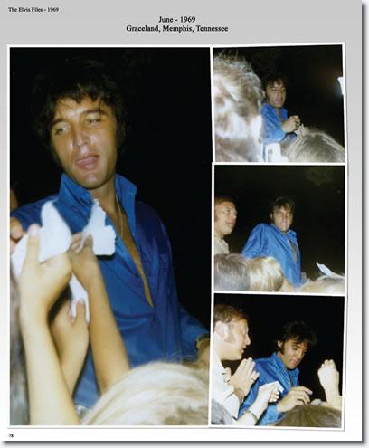 Elvis Presley : June 1969 : Graceland, Memphis, Tennessee