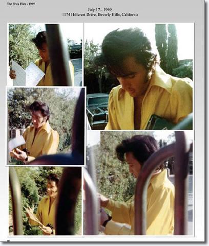 Elvis Presley : July 17, 1969 : Graceland, Memphis, Tennessee.