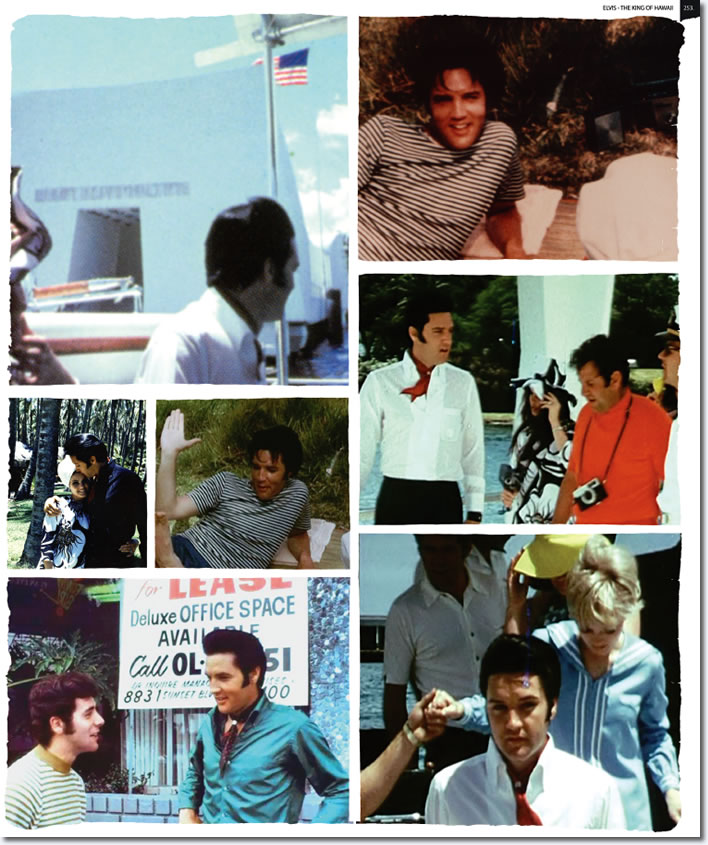 A photo preview of the new Elvis : The King Of Hawaii photo book.