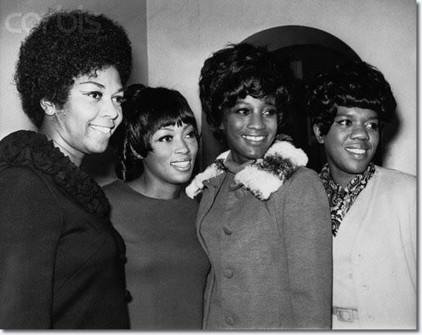 Cissy Drinkard Houston, Myrna Smith, Sylvia Shemwell and Estelle Brown.